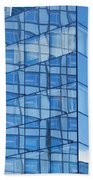 Modern Architecture Abstract Beach Towel