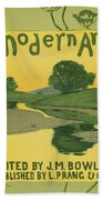 Modern Art 1895 Beach Towel