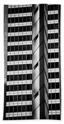 Modern Buildings Abstract Architecture Beach Towel