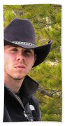 Modern Day Cowboy Beach Sheet