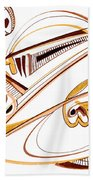 Modern Drawing Twenty Beach Towel