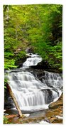 Mohican Falls Beach Towel