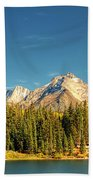 Molas Lake And The Needles Pan 1 Beach Towel