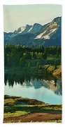 Molas Lake Sunrise Beach Towel