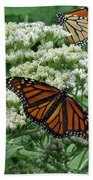 Monarch Butterfly 54 Beach Towel