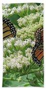 Monarch Butterfly 57 Beach Towel