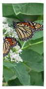 Monarch Butterfly 67 Beach Towel