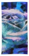 Monet Frosted Rose Beach Towel