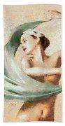 Monet Movement Beach Towel
