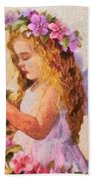Monet Silked Angel Beach Towel