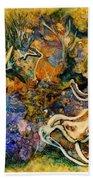 Monet Under Water Beach Towel