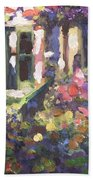 Monet's Home In Giverny Beach Towel