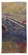 Monet's Lady Beach Towel
