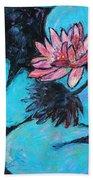 Monet's Lily Pond IIi Beach Towel