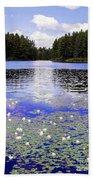 Monet's Prelude Beach Towel