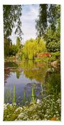 Monet's Water Garden 2 At Giverny Beach Towel