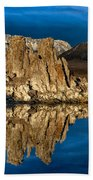 Mono Lake In March Beach Towel
