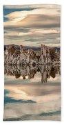 Mono Lake Reflections Beach Towel