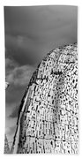 Monochrome Kelpies Beach Towel