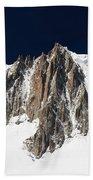 Mont Blanc Massif Beach Towel