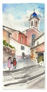Montalcino 01 Beach Towel