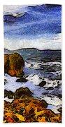 Montana Da Oro San Luis Obispo State Park Beach Towel