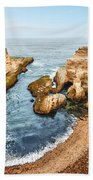 Montana De Oro Panorama Beach Towel
