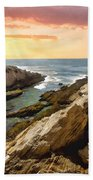 Montana De Oro Shore II Beach Towel