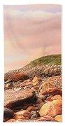 Montauk Point Lighthouse Beach Towel