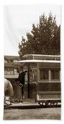 Monterey And Pacific Grove Street Railway Circa 1895 Beach Towel