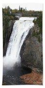 Montmorency Falls - Canada Beach Towel