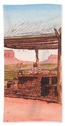 Monument Valley Overlook Beach Towel