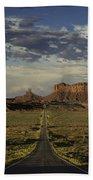Monument Valley Panorama Beach Towel
