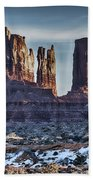 Monument Valley -utah V17 Beach Towel