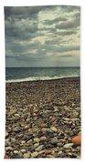 Moody Landscape Beach Towel
