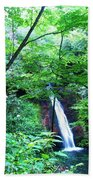 Moon Falls Beach Towel
