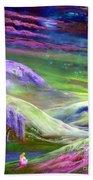 Moon Shadow Beach Towel by Jane Small