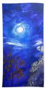 Moonglow Beach Towel