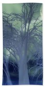 Moonlight Forest Beach Towel