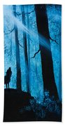 Moonlight Serenade Beach Towel