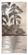 Moonlight Wakulla Springs Beach Towel