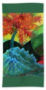 Moonstorm Beach Towel