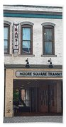 Moore Square Transit Station Beach Towel