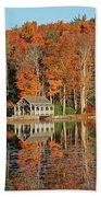 Moore State Park Autumn I Beach Towel