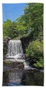 Moore State Park Waterfall 3 Beach Towel