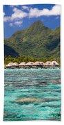 Moorea Lagoon No 3 Beach Towel