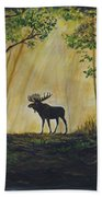 Moose Magnificent Beach Towel