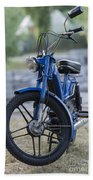 Moped Beach Towel