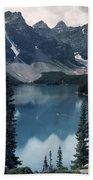 Morain Lake Beach Towel
