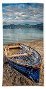 Morfa Nefyn Boat Beach Towel